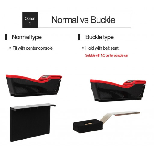 Normal type or Buckle type