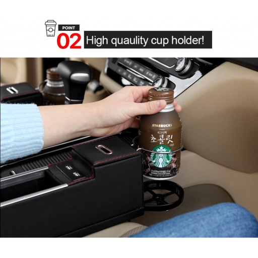 Point 2 - High quality cup holder