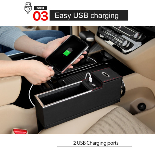 Point 2 - Easy USB charging